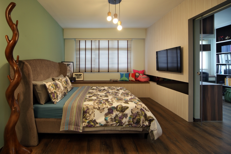 Hdb interior designers in singapore affordable hdb for Bedroom ideas hdb