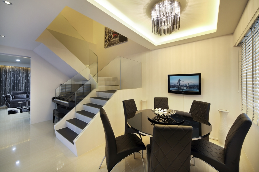 Home interior designers in singapore condo and hdb for Condo interior design photos